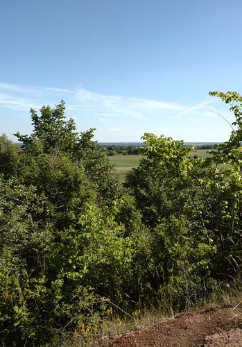 sweden plateau kinnekulle västragötaland västergötland platå martorpsfallen kaklksten limestonel