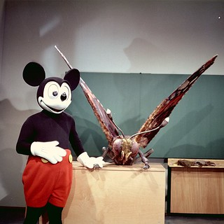 Mickey Mouse and Mothra