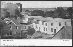 Shoe factory, Aurora, Ontario, Canada (1910)