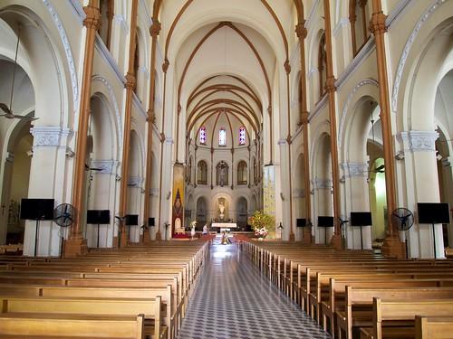 Inside Saigon Notre-Dame Basilica