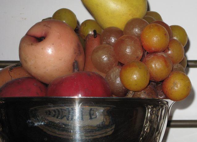 plastic fruit color target