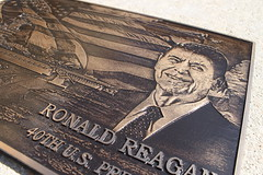 Cast Bronze Photo Relief Plaque