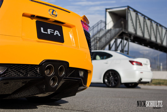 Lexus LFA Track Event