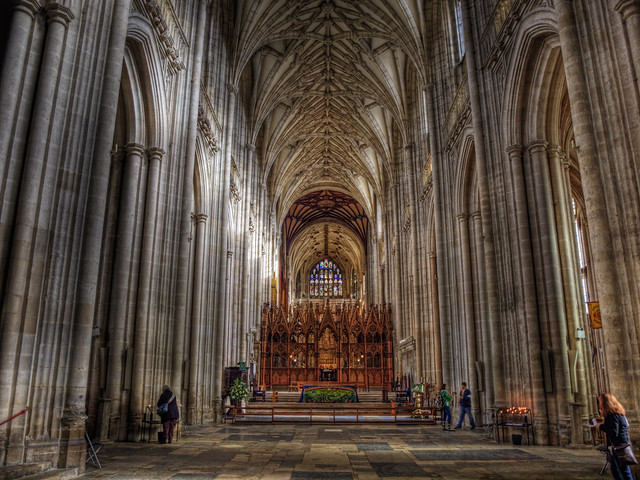 The Nave - Winchester Cathedral