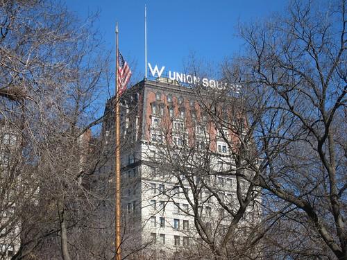 Union Square, W Hotel, NYC. Nueva York