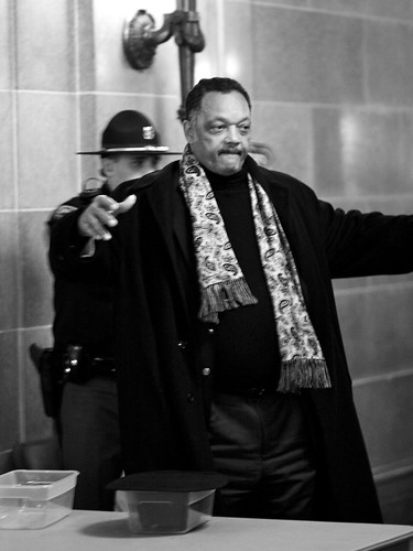 Security Check for Rev. Jesse Jackson
