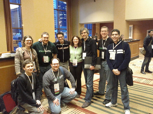 It's like seeing a single photo of almost all of the people I seek out the moment I get on-site at a DrupalCon.