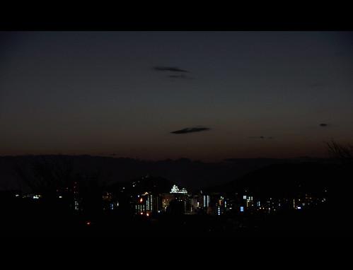 sunset japan view kumamoto kyushu sunsetovercity