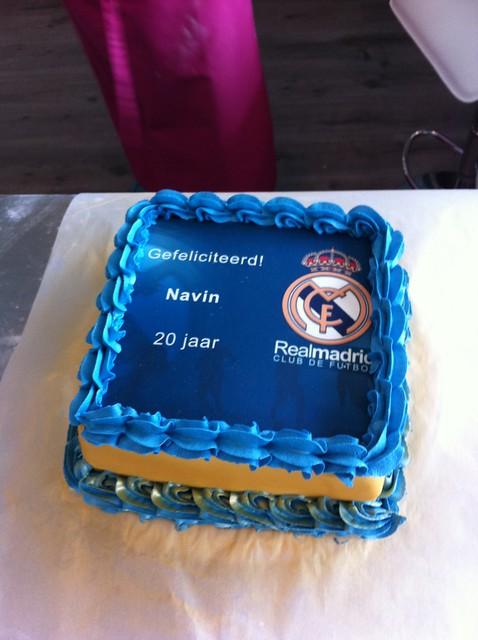 Real Madrid Logo Cake