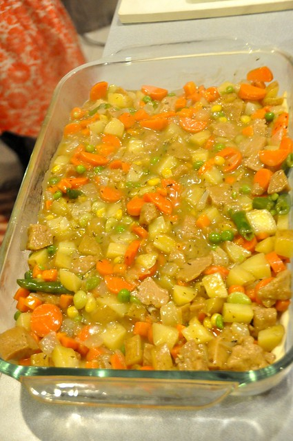 Vegetarian Chicken Potpie