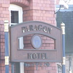Paragon Hotel - Moseley Street - hotel  sign