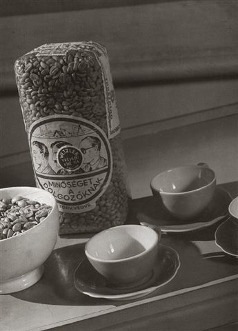 Pécsi József: Kávé reklám