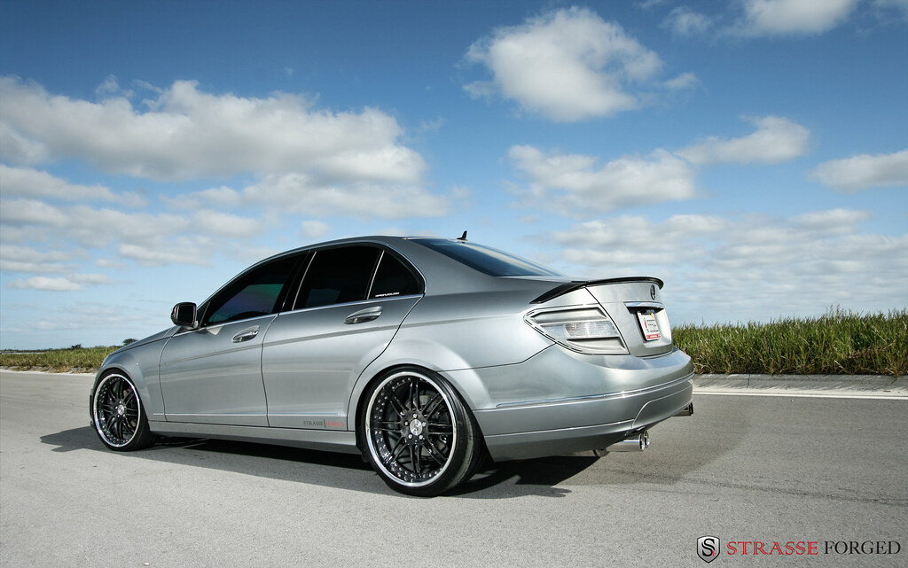 2011 mercedes benz c300 rims for Mercedes benz c300 black rims