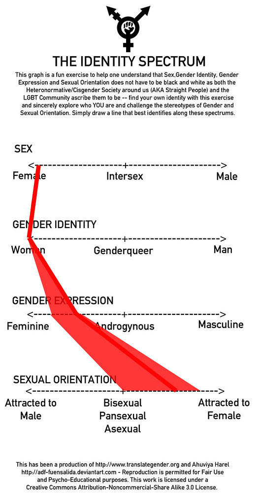 All Sizes My Gender Sexuality Identity Spectrum Chart Flickr