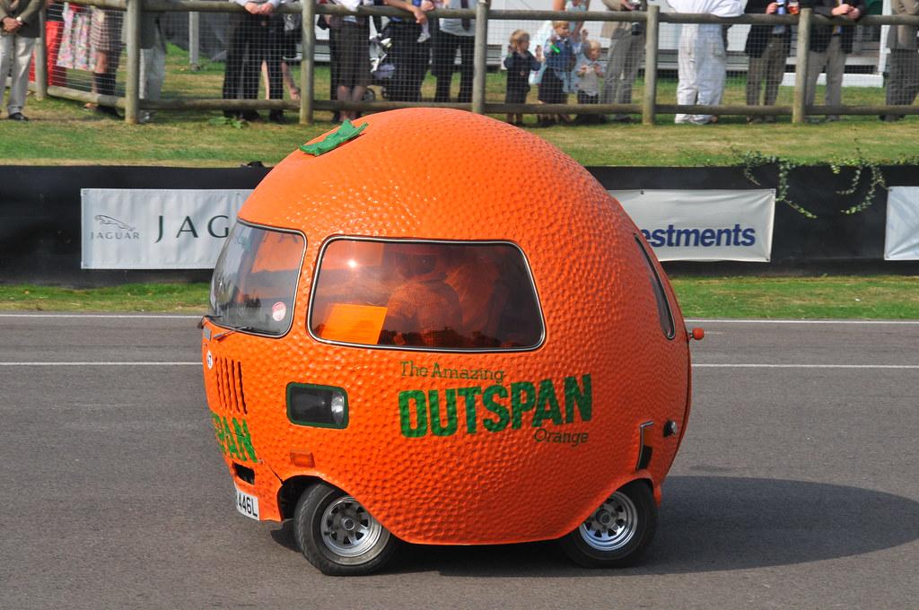 outspan orange car a photo on flickriver. Black Bedroom Furniture Sets. Home Design Ideas