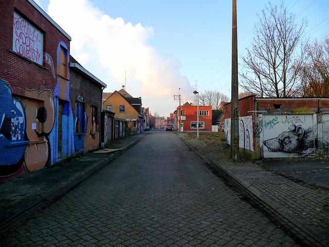 graffiti . streetart | doel . belgium