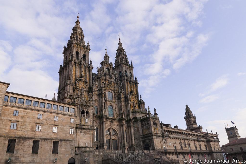 Catedral de santiago de compostela arquitectura comunidad nikonistas - Santiago de compostela arquitectura ...