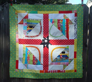 basket quilt top