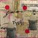 typewriter postcard by curbsidetreasure
