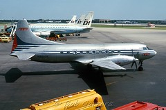 N94205 TTA Trans-Texas Airways