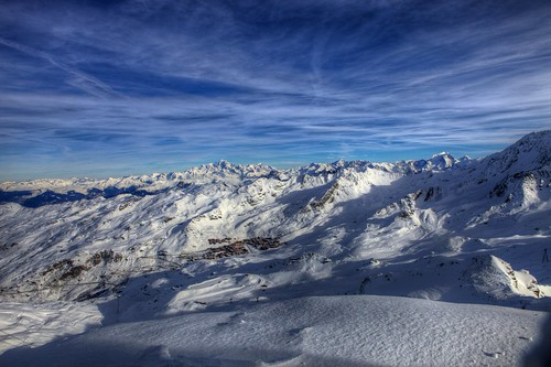 A view from Cime de Caron (3,200 m)