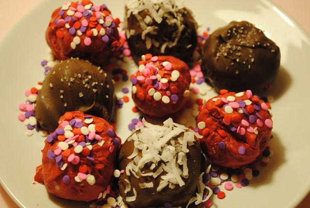 Valentine's Cake Pops I