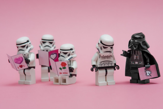 I find your lack of Valentines disturbing!