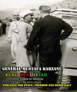MUSTAFA BARZANI مستهفا بارزانی سهركردهی بزاڤی ڕزگاریخوازی گهلی كورد