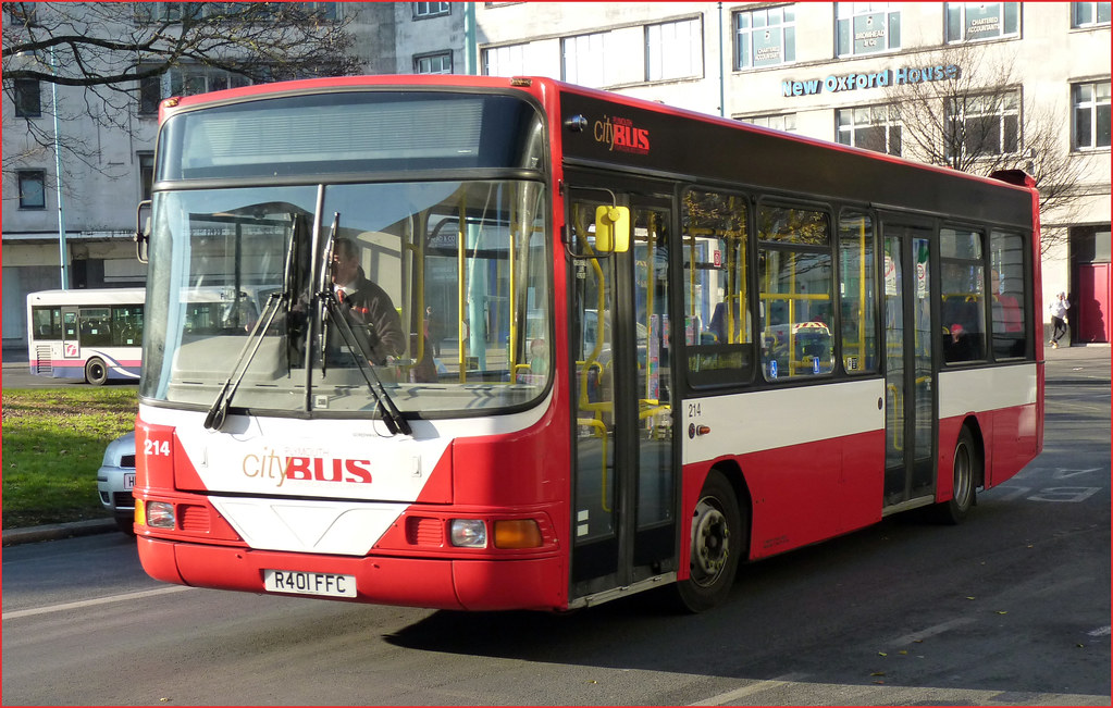 Plymouth Citybus 214 R401FFC 15 December 2010