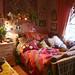 My room with new blanky by goddessofxanadu