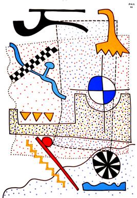 Kilian Leonard Dax: Papier