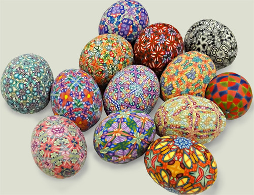 Polymer covered eggs