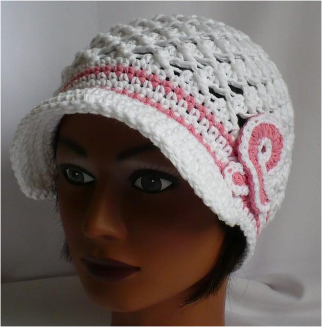 Crocheted Brimmed Hat Crochet For Beginners