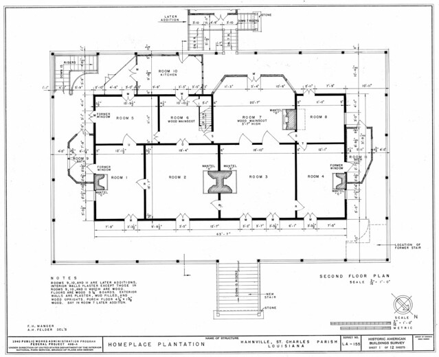 Historic plantation floor plans house plans home designs for Encyclopedia of home designs