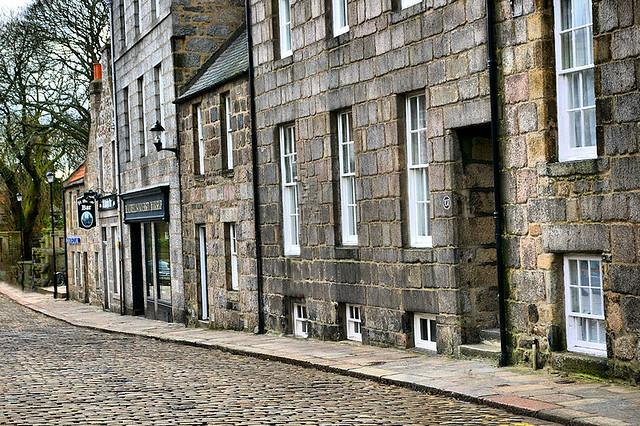 High Street Old Aberdeen - Flickr CC gordon_robertson