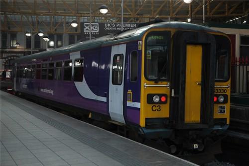 Class 153, Manchester Victoria, Platform 2