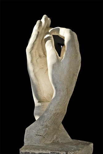 """La Cathédrale"" d'Auguste Rodin (musée Rodin)"