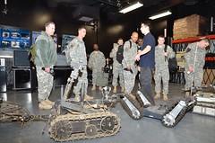RDECOM NCOs visit TARDEC