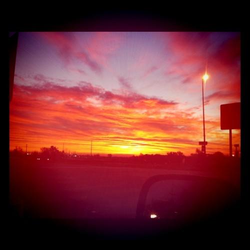 morning sky sunrise dawn missouri iphone