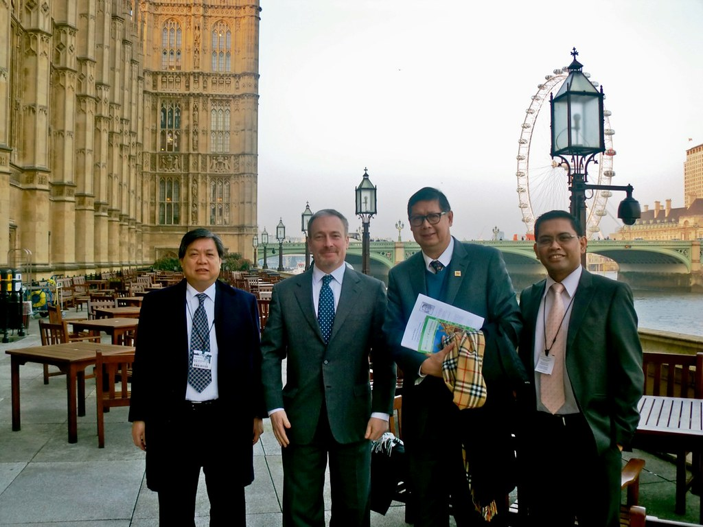 London Meetings of Philippine Board of Investments CEO Mr. Cristino Panlilio, March 2011