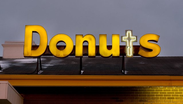 The Holiest of Donuts