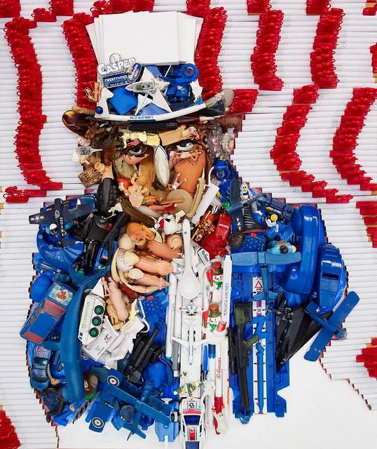 [ P ] Bernard Pras - Uncle Sam (via Mazel Galerie)