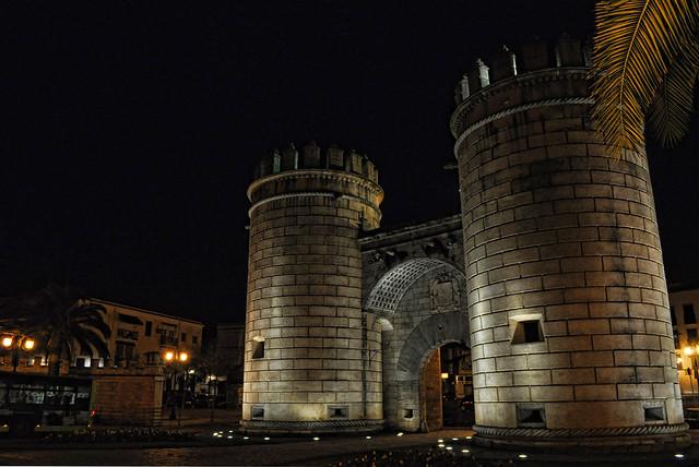 Puerta Palmas HDR