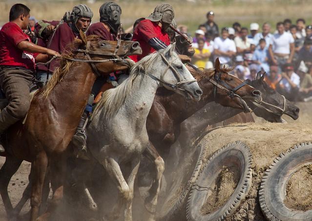 Horse Game For National Day, Bishkek, Kyrgyzstan