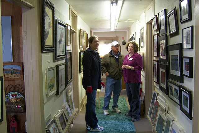 Nancy, Jim, and guide, Heidi