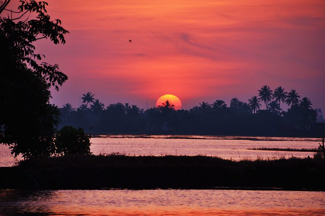 Kerala's sunset