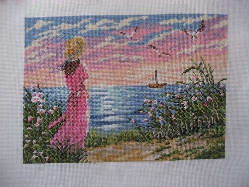 Девушка у моря / Girl near the sea
