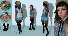 [Deadwool], *VinCue, Pink Acid, Lolita,MoDANNA, little bones, Indented, CandyDoll