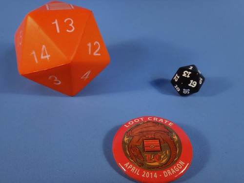 Loot Crate April 2014 Dice & Pin
