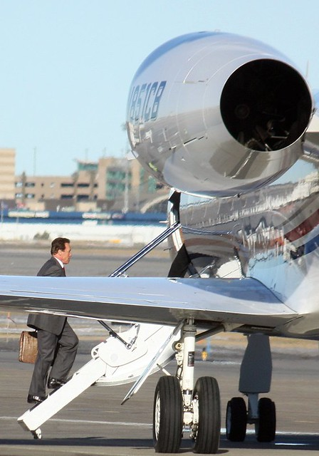 Arnold Schwarzenegger Private Jet  Flickr  Photo Sharing